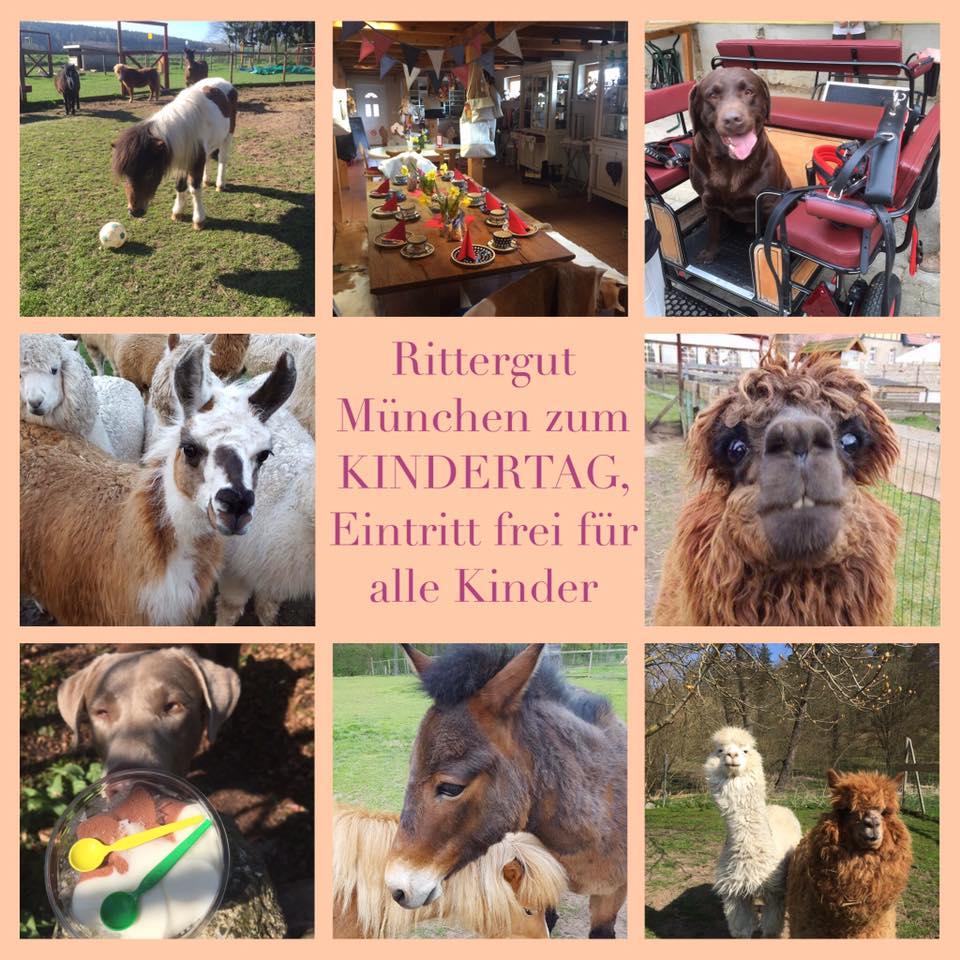 Kindertag auf dem Rittergut München