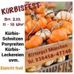 Kürbisfest 2016 auf dem Rittergut München