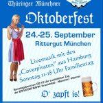 Oktoberfest 2016 auf dem Rittergut München in Thüringen
