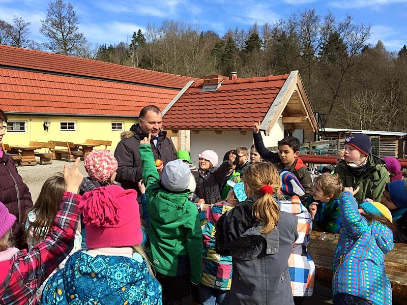 Vor allem Schulklassen nutzen das Rittergut München für einen Tagesausflug